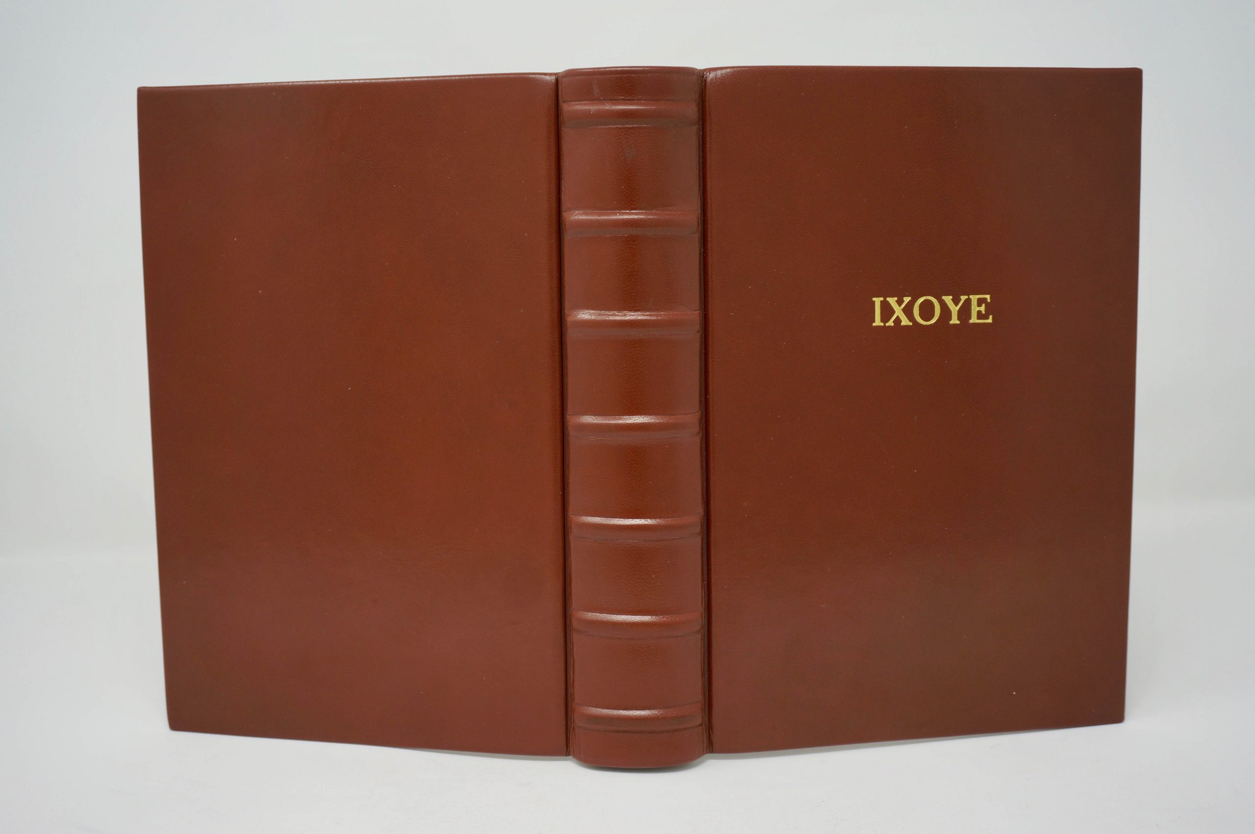 Bible Recovery Custom Leather Book Boston Harbor Bookbindery Olympia WA
