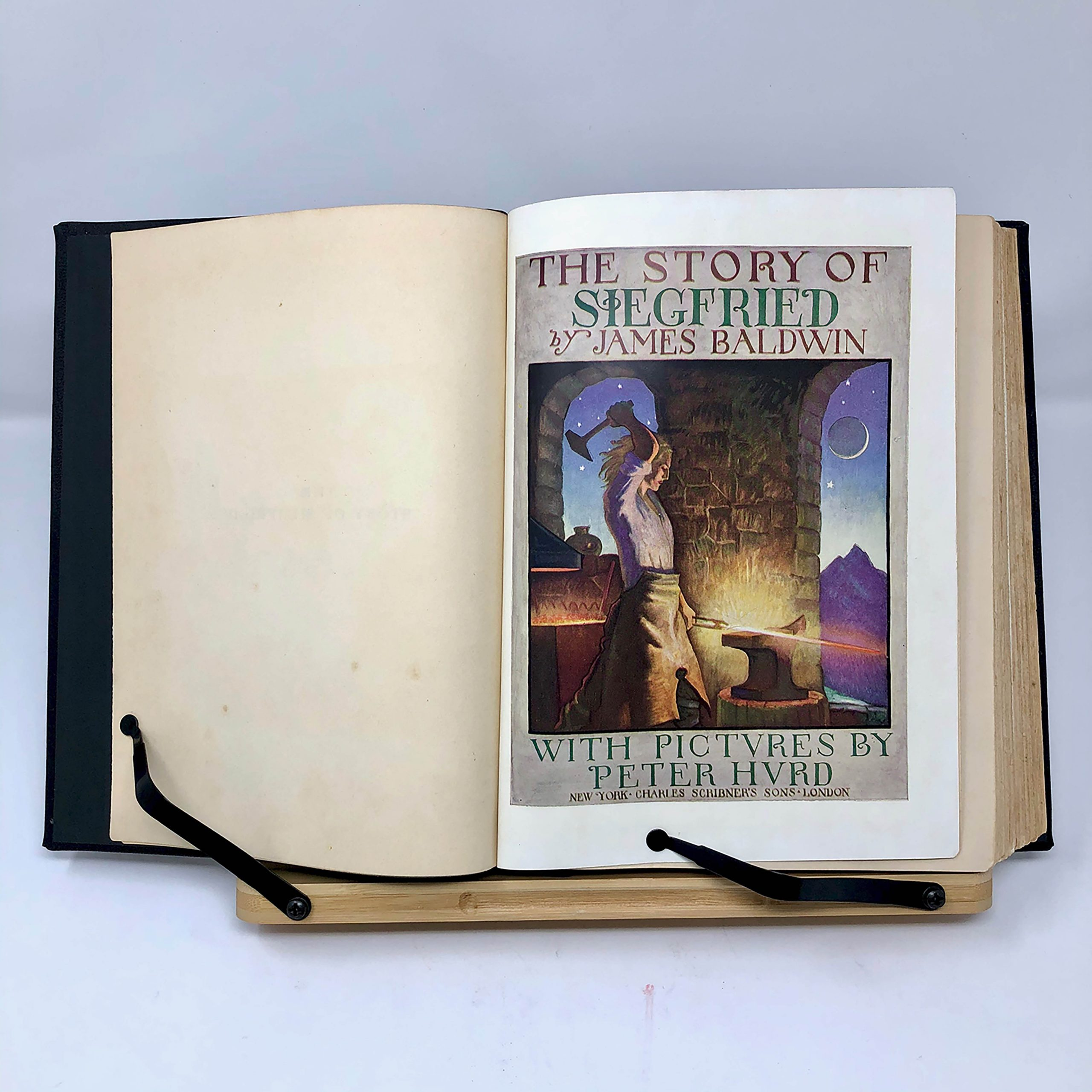 The Story of Siegfried By James Baldwin 1932 Edition