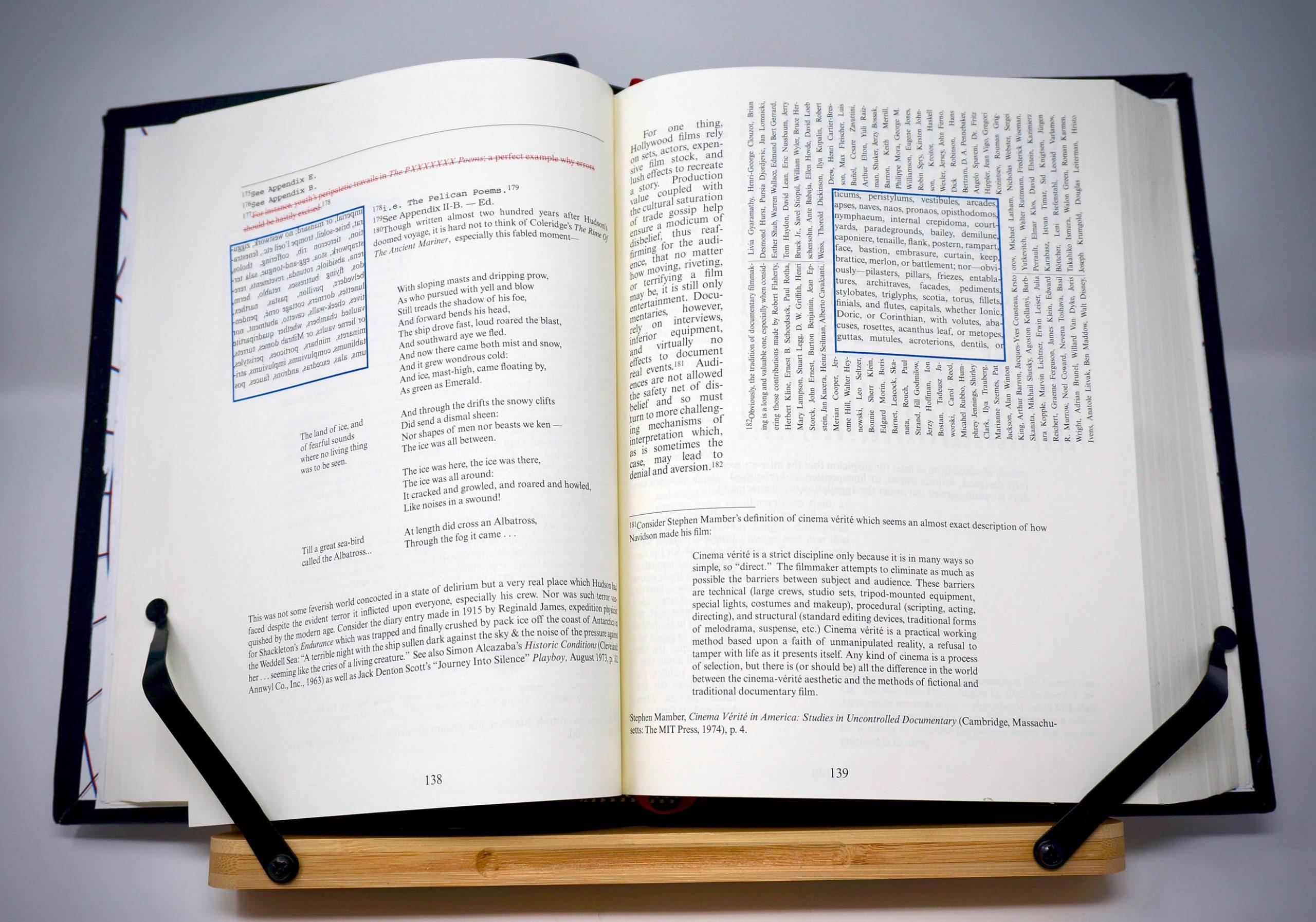 House of Leaves Custom Leather Bound Book Boston Harbor Bookbindery https://bostonharborbooks.com/