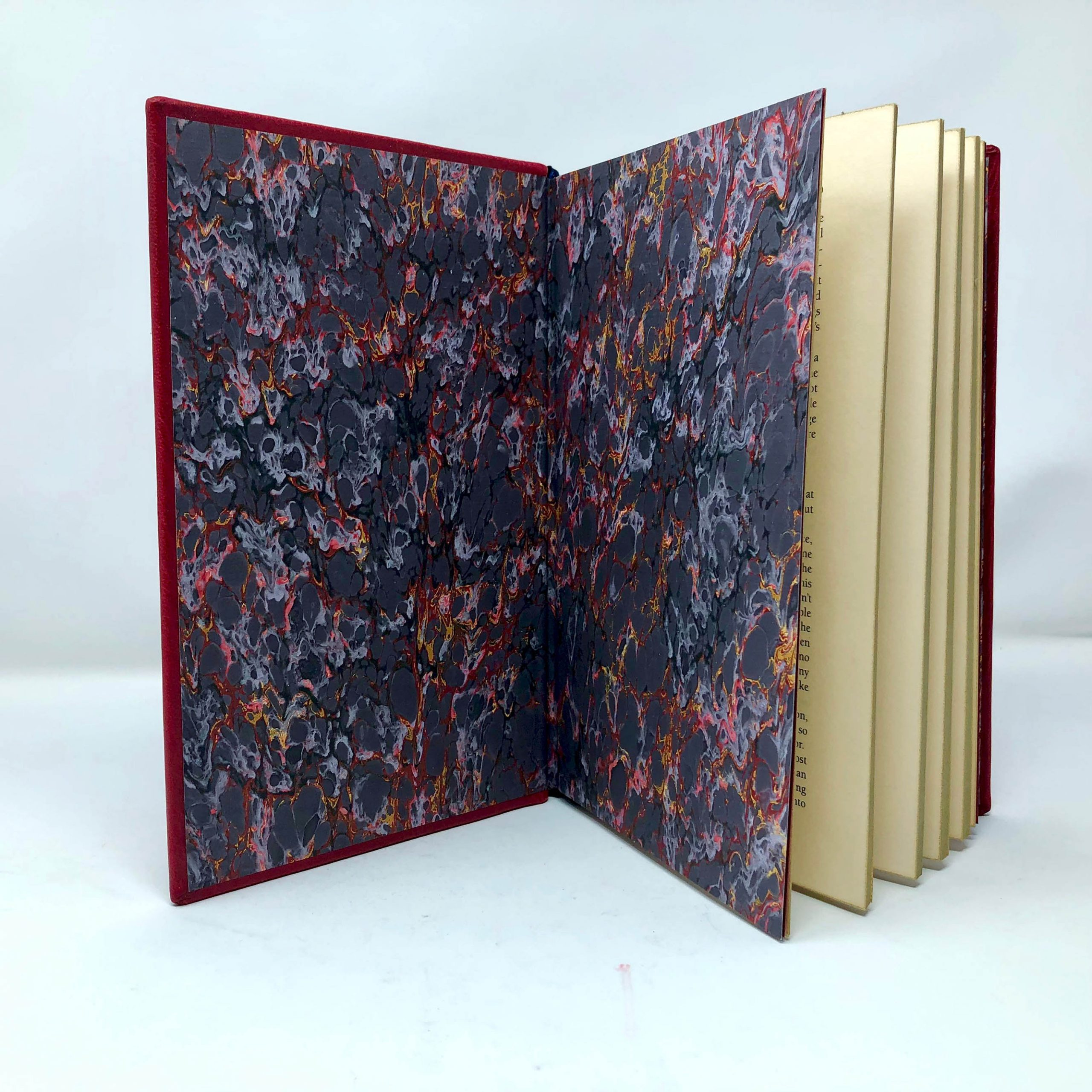 Harry Potter and The Philosopher's Stone | UK First Edition Custom Leather Book Boston Harbor Bookbindery