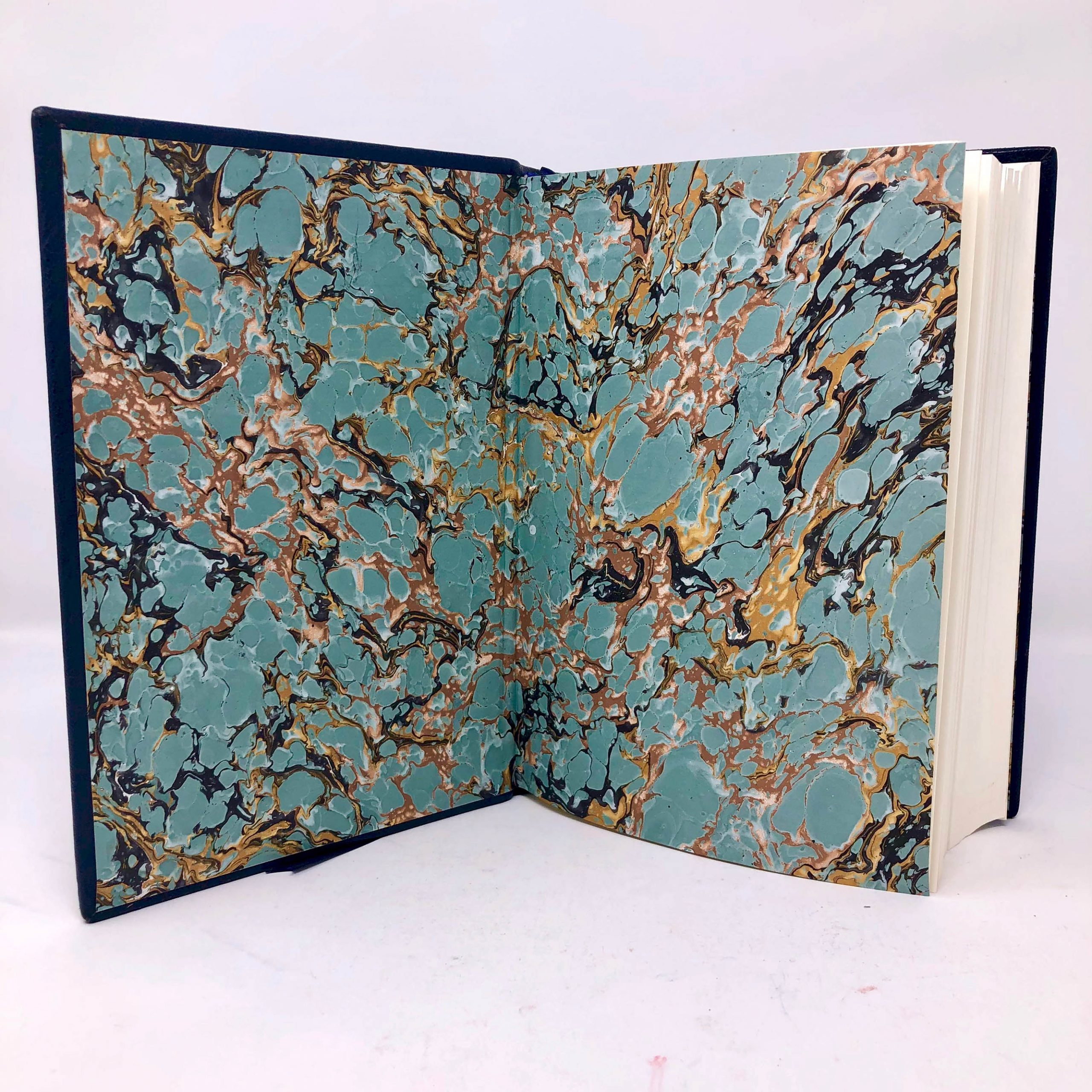 Musashi | Eiji Yoshikawa Custom Leather Book Boston Harbor Bookbindery